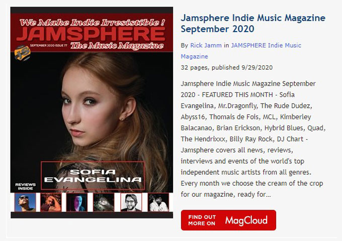 Jamsphere Indie Music Magazine September 2020