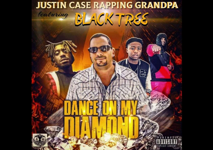 "Justin Case Rapping Grandpa – ""Dance on my Diamond"" ft. Blacktree keeps you listening!"