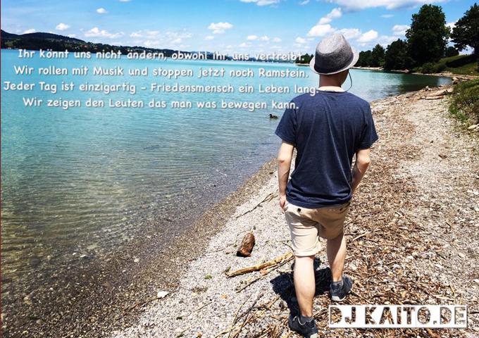 "DJ Kaito – ""Nur so irgendwie"" – chillout and introspective rap"