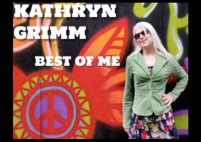 """Award Winning Guitarist / Singer / Songwriter Kathryn Grimm's New Video Release """"Best Of Me"""" Is Dedicated to Victims of Domestic Violence"""