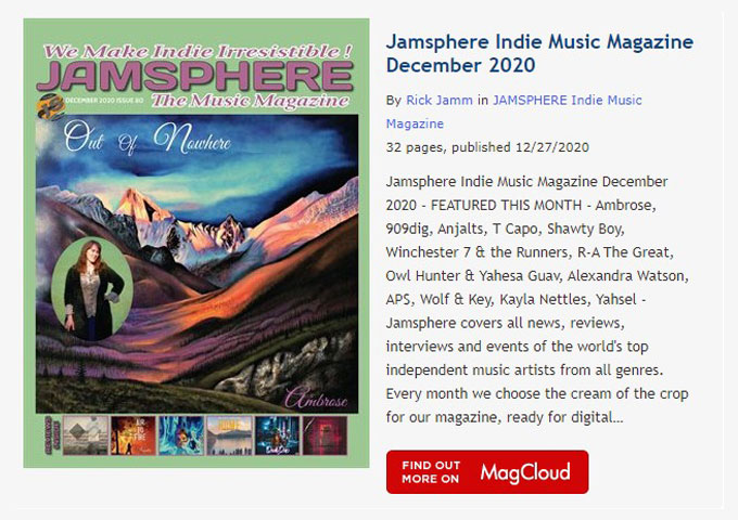 Jamsphere Indie Music Magazine December 2020