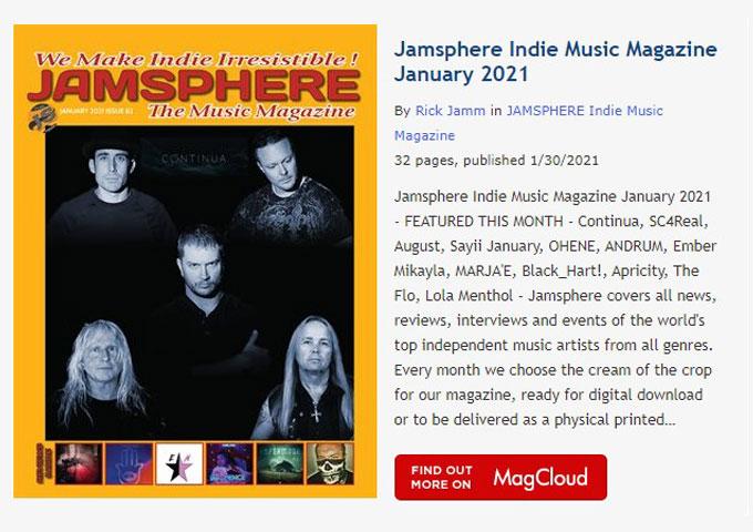 Jamsphere Indie Music Magazine January 2021