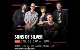 """Sons of Silver is joining forces with Amazon Music for """"Inauguration Reverberation"""" the band's first show of 2021"""