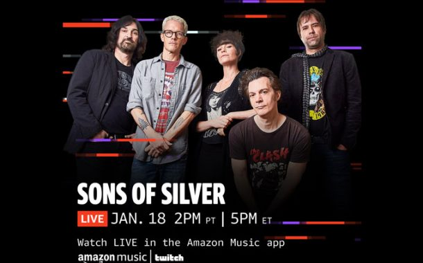 "Sons of Silver is joining forces with Amazon Music for ""Inauguration Reverberation"" the band's first show of 2021"
