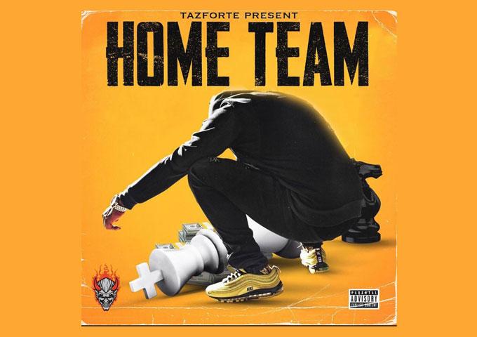 "Atlanta-based Hip Hop and Rap artist Taz Forte has released the EP ""Home Team"""