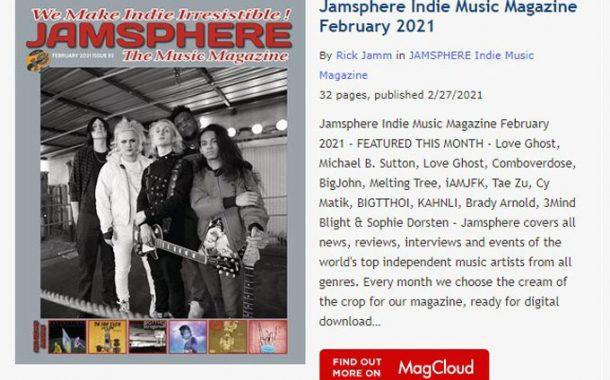 Jamsphere Indie Music Magazine February 2021