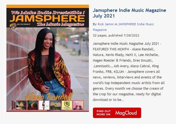 Jamsphere Indie Music Magazine July 2021