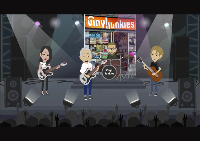 """Rockidle – """"Vinyl Junkies"""" is filled with in-depth songwriting"""
